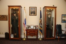 The Cabarrus County Veterans Museum, through which we honor the County's servicemen from World War I to the current day