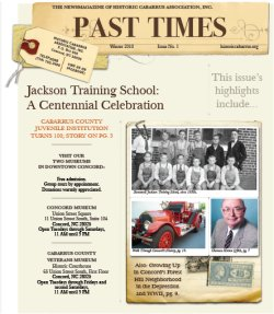 Past Time E-zine Newsletter Archive