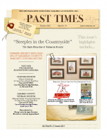 Past Times Newsletter Summer 2016