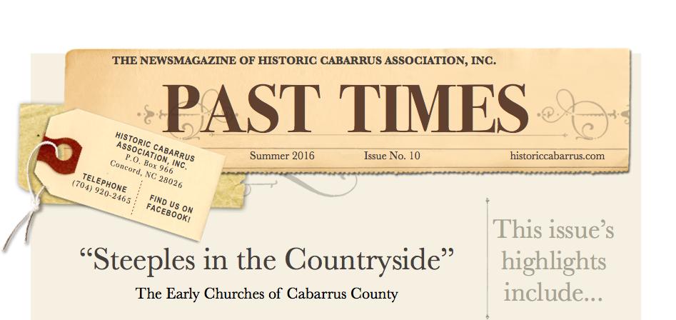 PastTimesNewsletter Heading
