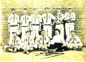 Brown Mill Baseball Team